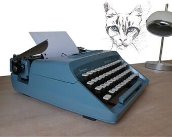 Remington working typewriter, Remington typewriter, Remington ten forty, vintage typewriter, manual typewriter, FREE ink ribbon