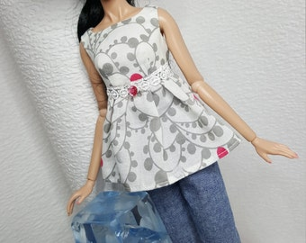Spring Thing for Fashion Royalty, Silkstone Barbie and similar dolls