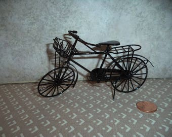 1:12 scale Dollhouse miniature old fashion Bicycle