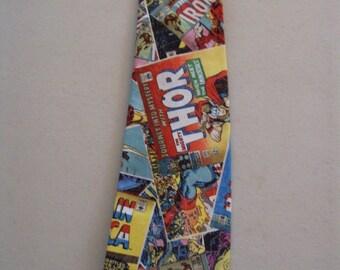 Marvel Comic Character Men's Necktie