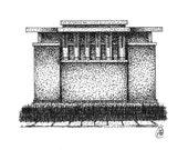 Unity Temple - High Resolution Digital Image