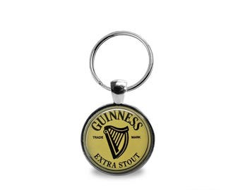 Vintage Guiness Beer Key Chain