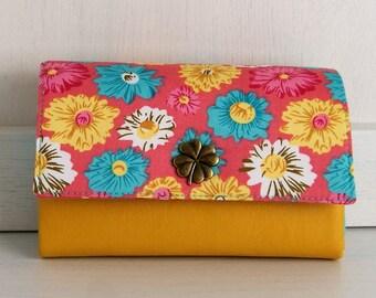 Wallet, purse, little Ruby, flower
