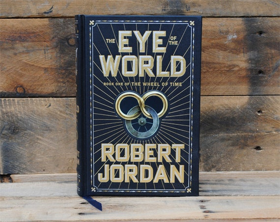 Book Safe - The Eye of the World - Leather Bound Hollow Book Safe