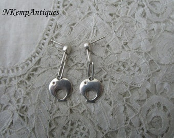 Real silver earrings