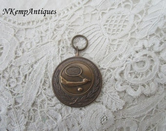 Old tennis  pendant/medal