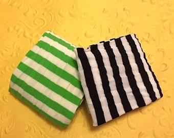Children's striped tights