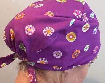 Folk Floral Dot • Pixie Tie Back