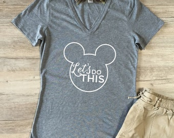 Let's Do This Tshirt - Womens Clothing. Womens Tshirt. Graphic Tee - Tickled Teal