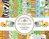 """Doodlebug 6 x 6 """"Paper Pad At The Zoo"""
