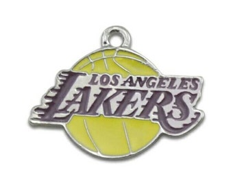 LA Lakers Logo Charm-Qty: 1