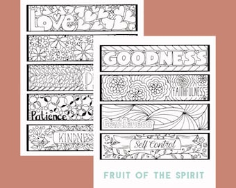 Color Your Own Bible Verse Bookmarks, Christian Bookmarks, Bible Bookmarks