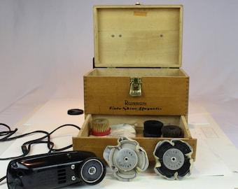 Vintage Electric Shoe-Shine Kit