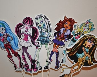 Monster High Large Centerpiece and Cake Topper