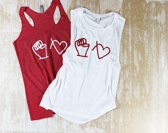 Feminist Shirt / Nevertheless She Persisted Shirt / Nasty Women Shirt / Resist Shirt / Girl Power Shirt / Love Trumps Hate Shirt