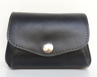 Black leather wallte
