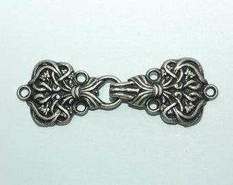 "Silver Celtic Clasp Size 2 3/4"""