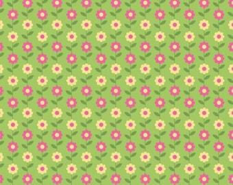 Riley Blake - Summer Song Daisy - C4623-GREEN