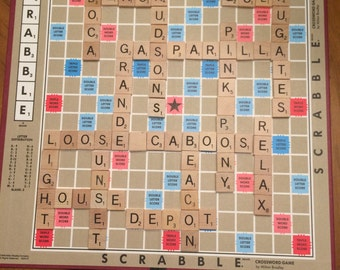 Personalized Scrabble Boards
