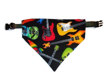 Electric Guitar Music Wall Decals