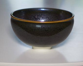 OIlspot porcelain bowl
