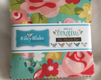 Hello Gorgeous Charm Pack by My Mind's Eye for Riley Blake Designs