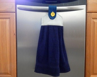 Hanging Towel, kitchen towels, kitchen and dining, embroidered towel, table linen, hand towels, kitchen towels, dish towel,