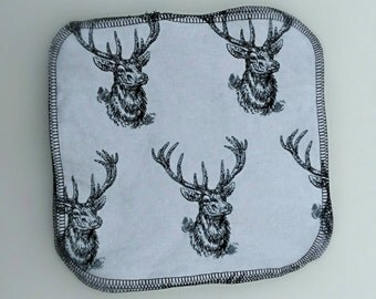 White Deer cloth wipes/ washcloths 8x8 10 pack