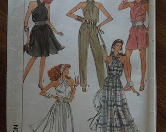 Simplicity 8614, size 16, dress, jumpsuit, romper, misses, womens, UNCUT sewing pattern, craft supplies