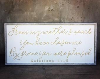 Galatians 1:15 Sign