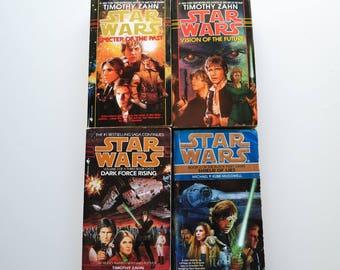 Four Vintage Star Wars Novels (1990's)