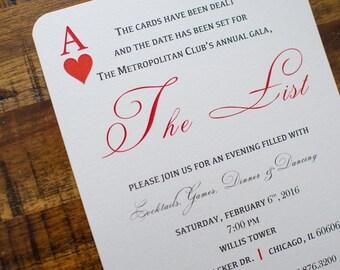 Gala Party Invitation