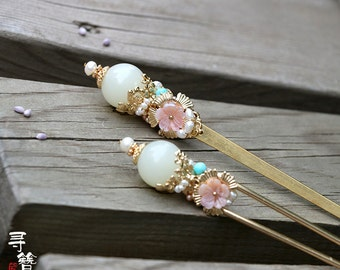 Chinese style hair stick,Hair pin,Hair Accessories