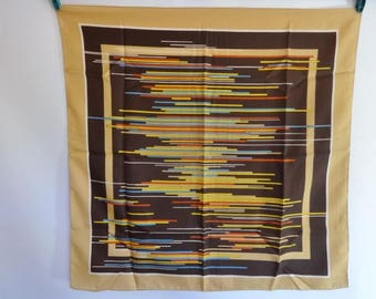 Vintage Abstract Mod Scarf 67cm x 67cm