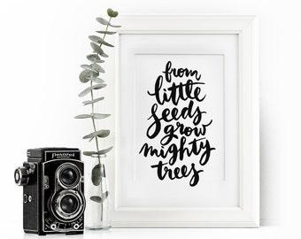 Art print - Little Seeds