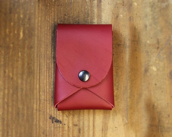 one piece wallet - Leather wallet - small wallet