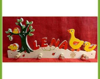 Tree ducks dressing room named for children II