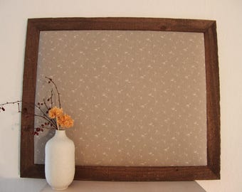 Framed Pinboard Country-Style