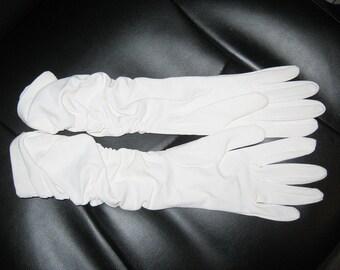 White dress gloves - Etsy