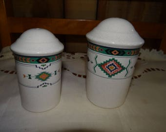 Studio Nova Adirondack Style Salt and Pepper Shakers..