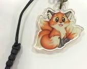 Kitsune/Fox Phone Charm