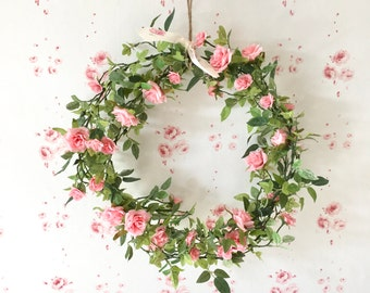Rose Garland Wreath