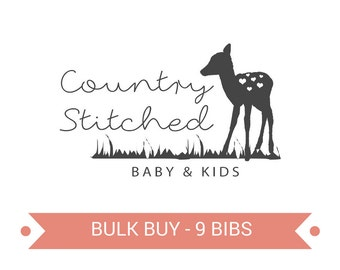 Pick Your Own 9 Bibs
