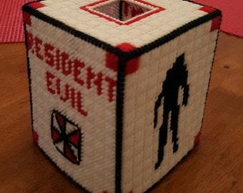 Resident Evil Tissue Box Cover