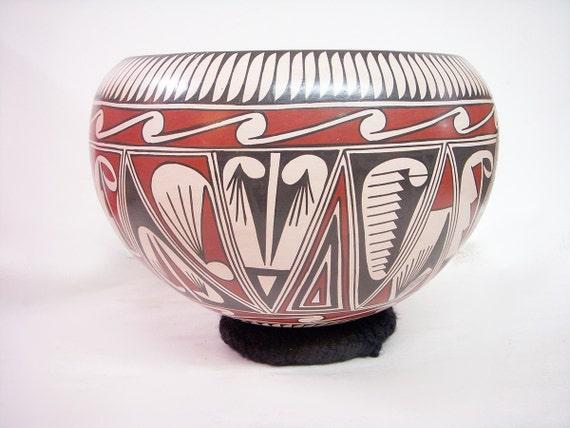 Mata Ortiz Casa Grande Pottery Native American Pot