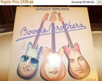 Save 30% Today Vintage 1975 Vinyl LP Record Boogie Brothers Savoy Brown Near Mint Condition 8851