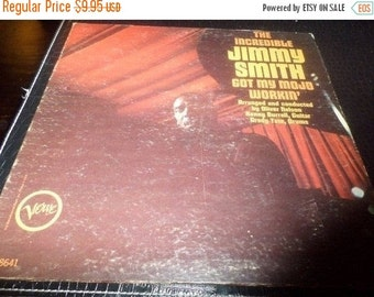 Save 30% Today Vintage 1965 Vinyl LP Jazz Record Got My Mojo Workin' The Incredible Jimmy Smith