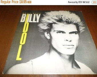 Save 30% Today Vintage 1981 Vinyl EP Record Billy Idol Don't Stop Very Good Condition 3553