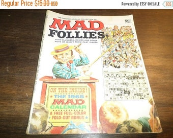 Save 25% Now Vintage 1964 Mad Magazine 2nd Annual Mad Follies Complete Excellent Condition