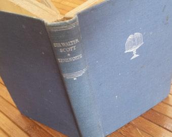 1831 Kenilworth by Sir Walter Scott hardback book historical romance novel